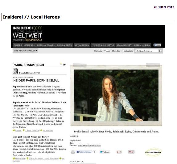 Blogs mode dans la presse