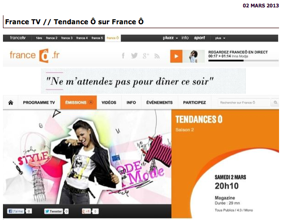 Blogueuses mode-France Televisions