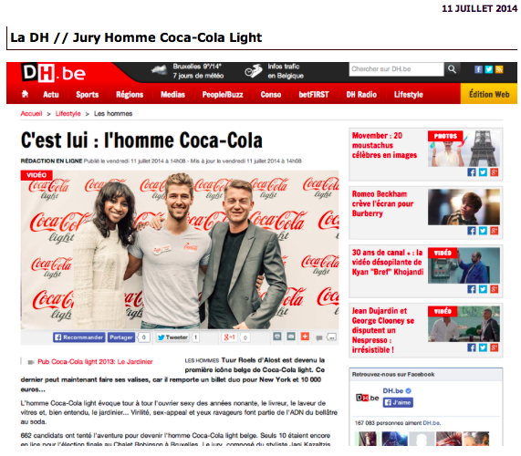 Fashion Blog in Belgium-Jury Homme Coca-Cola Light