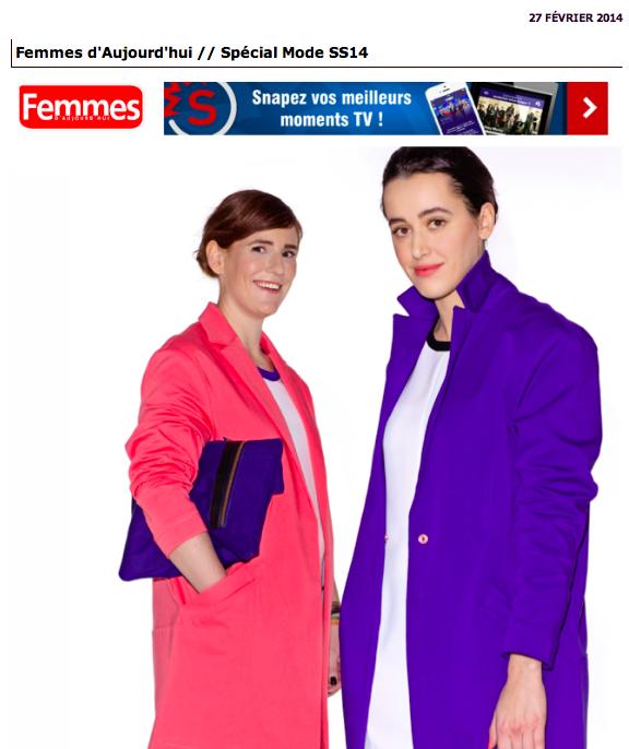 Femmes d'Aujourd'hui-Blogueuses mode en Belgique