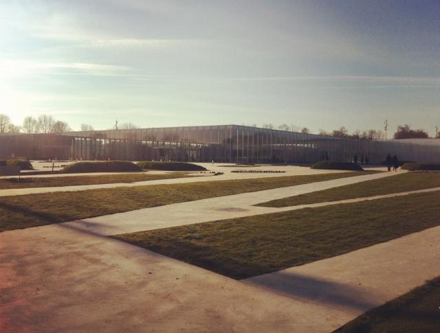 Inauguration Louvre-Lens 12.12.12-Façade