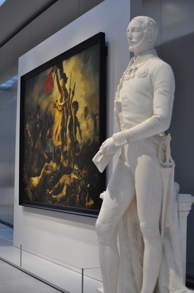 Louvre-Lens 19-La Liberté guidant le peuple Delacroix