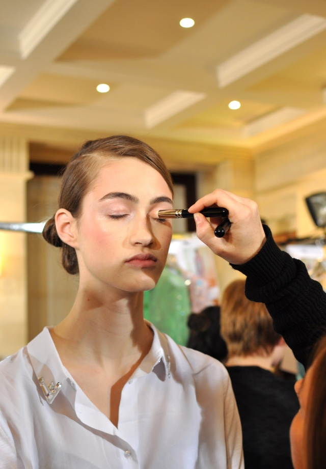 Georges Hobeika Backstage-Haute Couture PE13-10