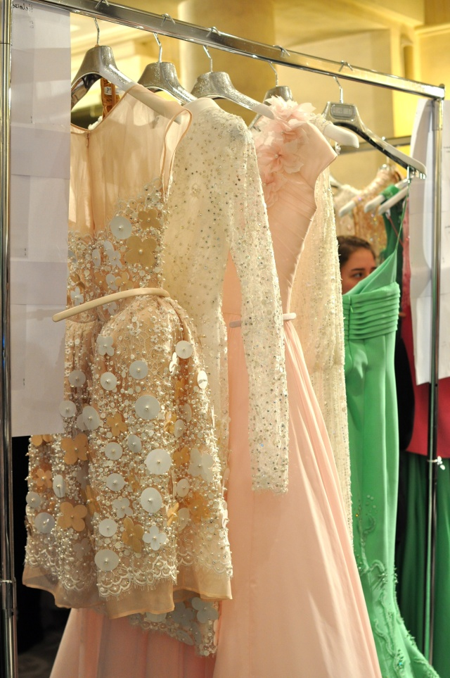 Georges Hobeika Backstage-Haute Couture PE13-14