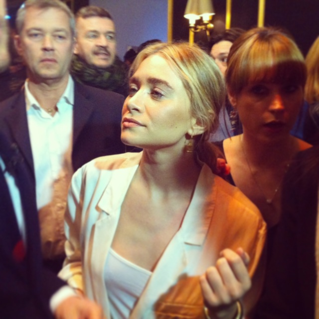 Ashley Olsen-H&M Fashion Show-PFW