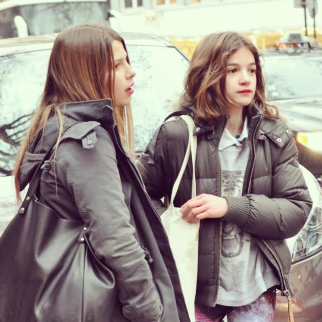 Baby Modeuses Street Style-Paris Fashion Week FW13-14