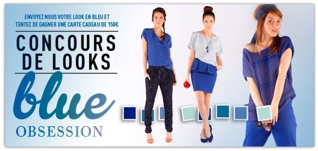Comptoir des Cotonniers-Concours looks Blue Obsession