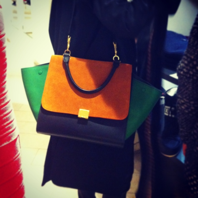 Céline Trapèze Bag