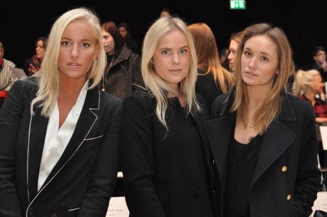 Petra Tungården, Joanna Fingal and Caroline Sandström