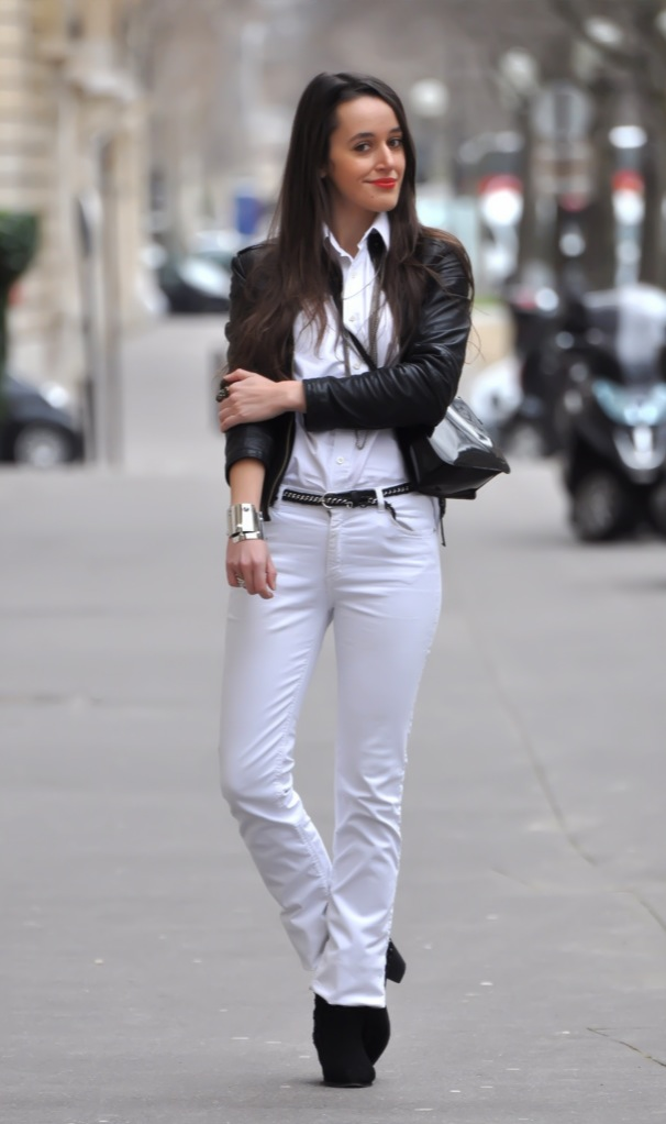 White skinny pants 2