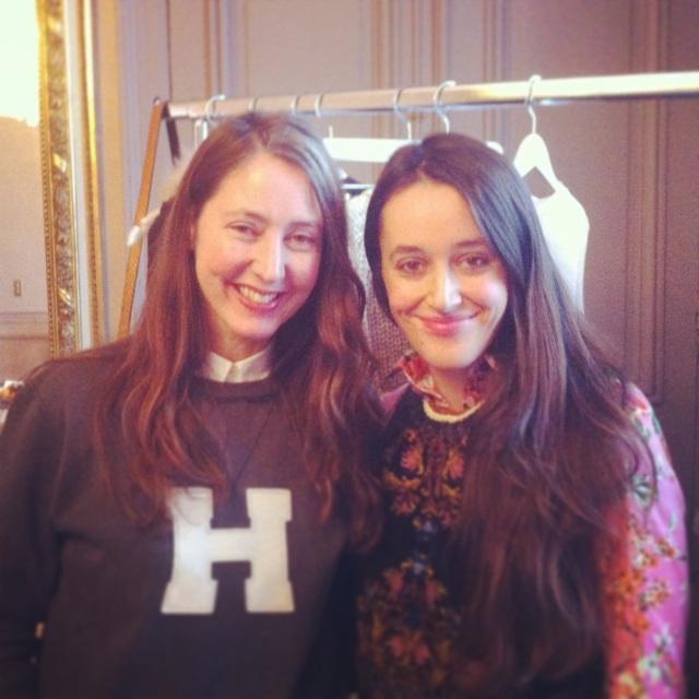 Ann-Sofie Johansson H&M-Paris Fashion Week