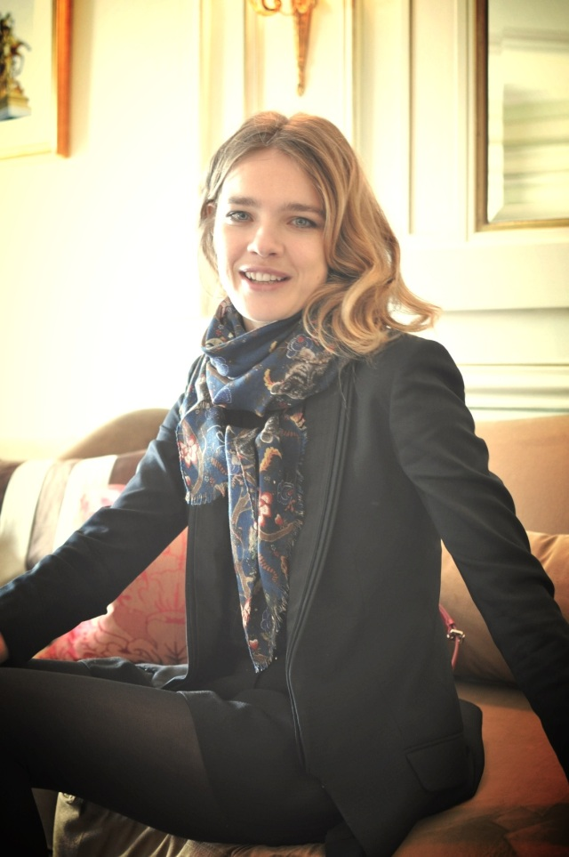 Interview Natalia Vodianova-Etam Live Show 2013-Fashion Blog