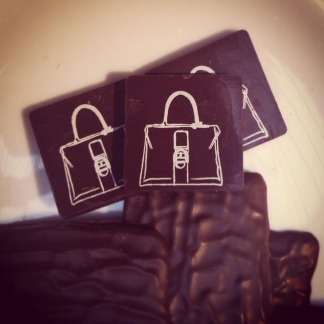 Maroquinerie Delvaux-Chocolat Madame-Showroom Paris Fashion Week