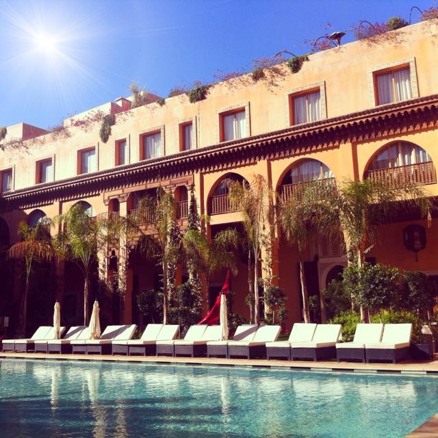 Marrakech-Les Jardins de la Koutoubia