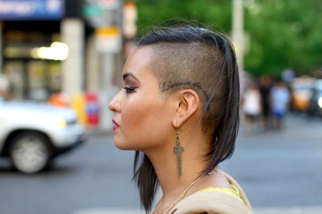 Girl Tattoo-Head