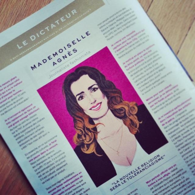 Mademoiselle Agnès-Stylist Magazine