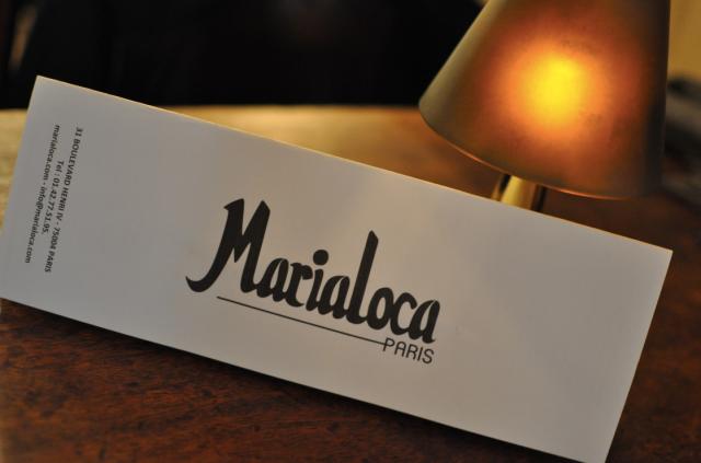 Marialoca Cocktail Bar Paris 1