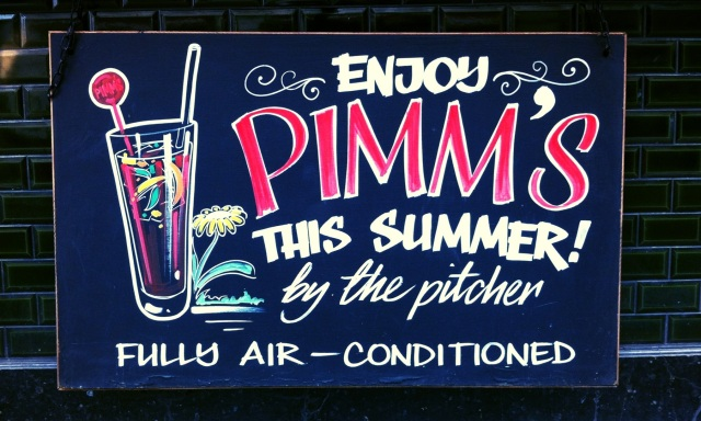 Pimm's in London
