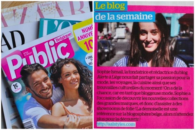 Magazine Public 10 ans-Blog mode dans la presse