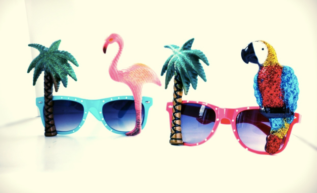 Primark Sunglasses-Flamingo Parrot