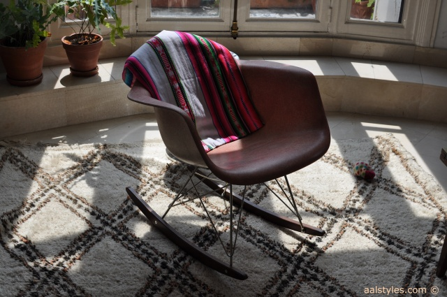 Chaise à bascule RAR-Charles & Ray Eames‏ Blog