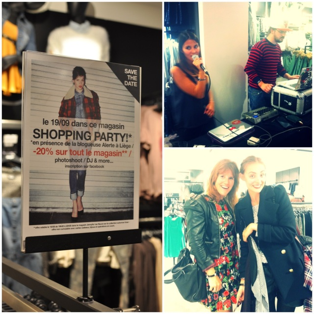Jennyfer Shopping Party Bruxelles-Blog mode alertealiege