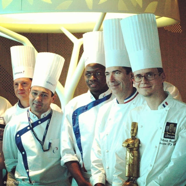 THIBAUT RUGGERI, BOCUSE D'OR 2013, SIGNE DE NOUVEAUX PLATS EN CABINE BUSINESS D'AIR FRANCE