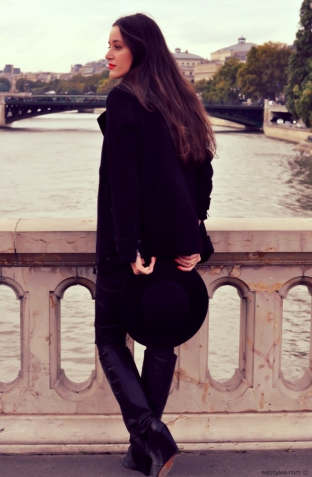 Jennyfer-Manteau col perfecto noir-2