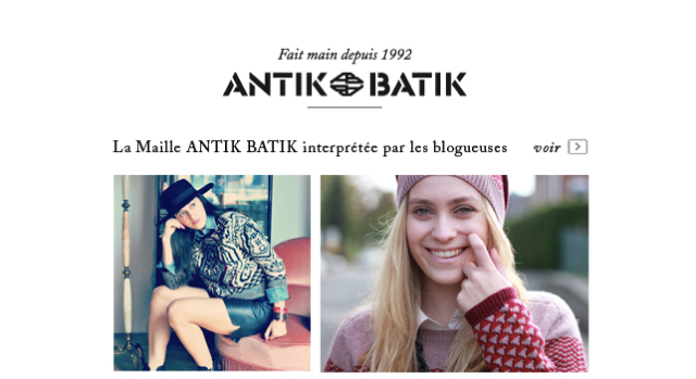 La Maille Antik Batik-Blogueuses mode