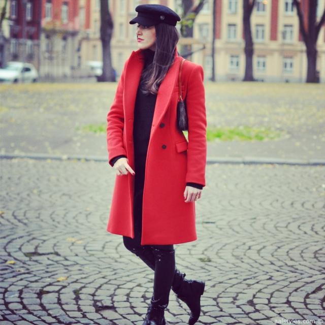 Red Coat-Fashion Blog 2