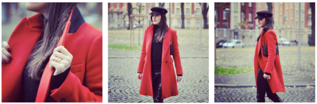Red Coat-Fashion Blog 3