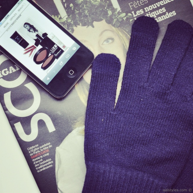 UNIQLO-Gants pour écran tactile