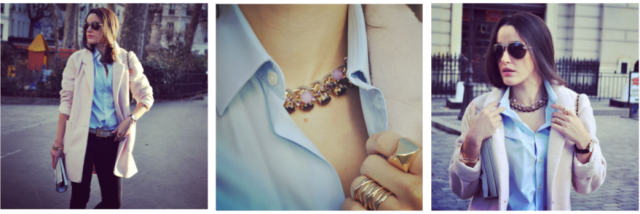 Boyfriend pink wool coat-Fashion Blog