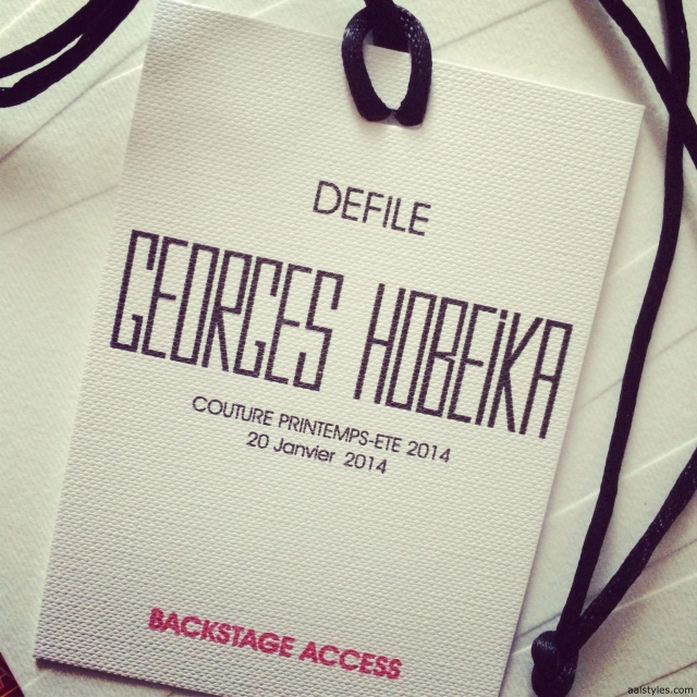 Georges Hobeika SS14-Backstage 1