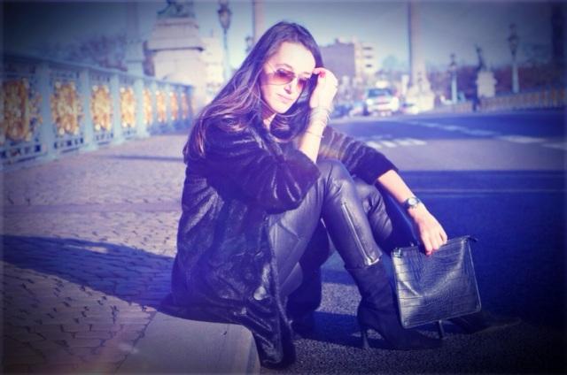 Leather-Faux Fur-Fashion Blog