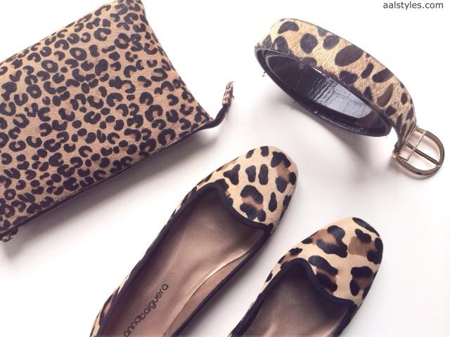 Anna Baiguera-Loafers Leo Print