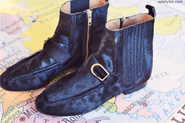 Isabel Marant-anson-calf-hair-loafer-boots-Fashion Blog 1