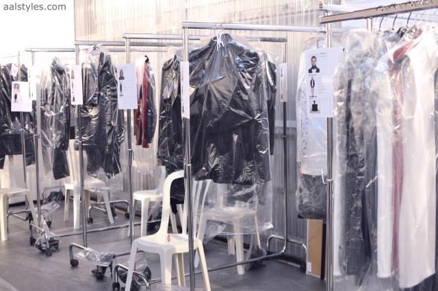 Vaccarello Fall-Winter 2014 2015-Backstage Estee Lauder 1