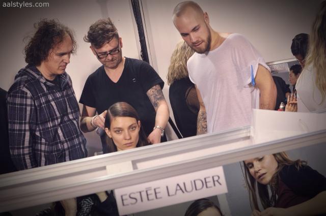 Vaccarello Fall-Winter 2014 2015-Backstage Estee Lauder 18