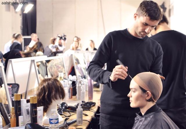 Vaccarello Fall-Winter 2014 2015-Backstage Estee Lauder 6