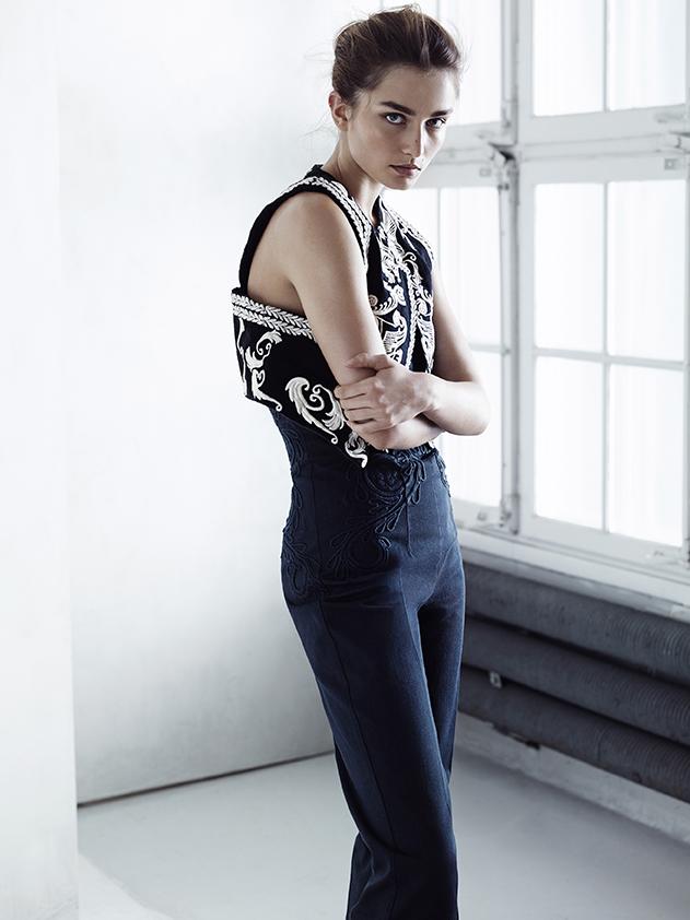 H&M Conscious Exclusive 2014-Andreea Diaconu-9