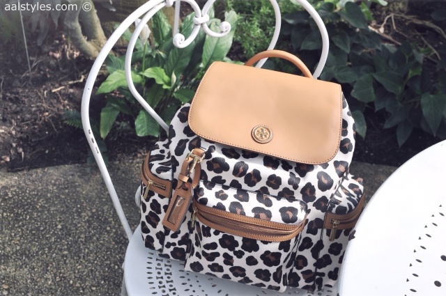 9.Tory Burch Kerrington Backpack-Pop-up Store Galeries Lafayette