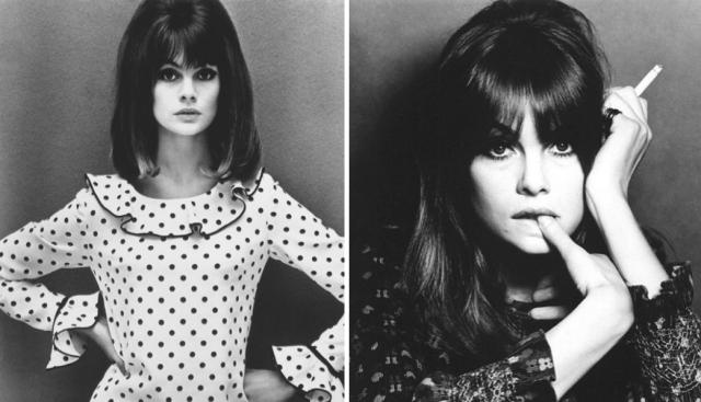 Jean Shrimpton-Hairstyle