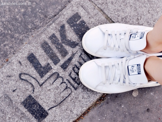 Adidas Stan Smith-Bleu