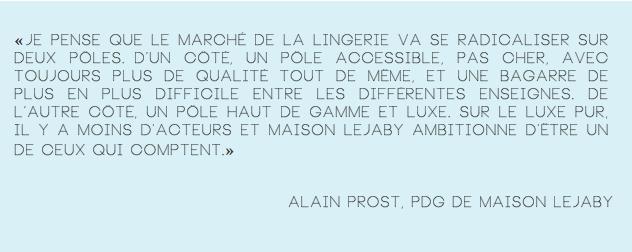 Alain Prost-PDG de Maison Lejaby-130 ans-Lido