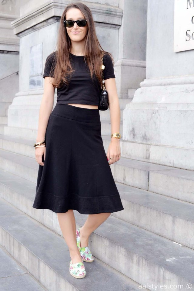Crop top & midi skirt-2