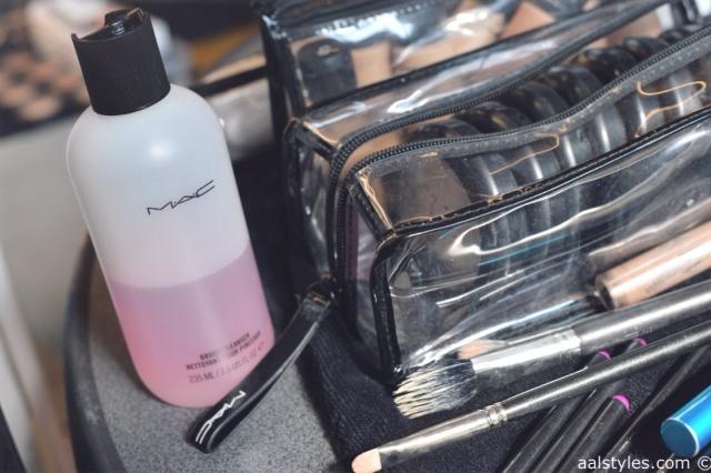 MAC Cosmetics make-up artists and backstage-11