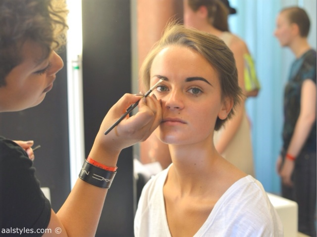 MAC Cosmetics make-up artists and backstage-1