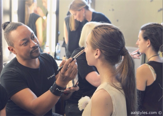 MAC Cosmetics make-up artists and backstage-13