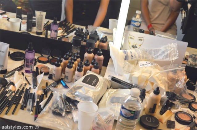 MAC Cosmetics make-up artists and backstage-15